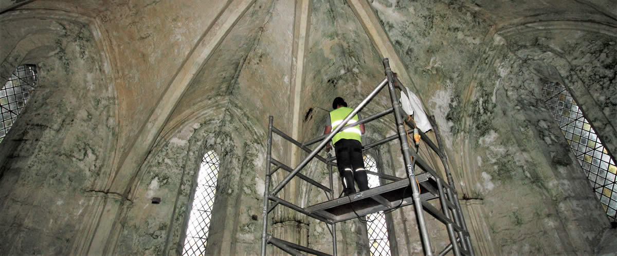 Assessing Damp in a Church Building - Nicholson Price Associates